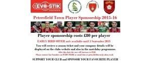 Player Sponsorship 2015-16
