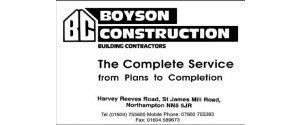 Boyson Construction