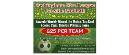 Buckingham Star Six A Side League