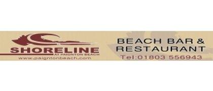Shoreline at Paignton Beach