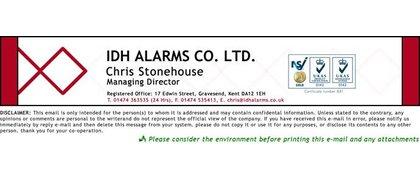 IDH Alarms Co Ltd