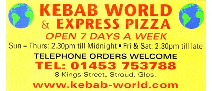 Kebab World & Express Pizza