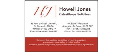 Howell Jones Cyfreithwyr/Solicitors