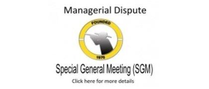 SGM Notice