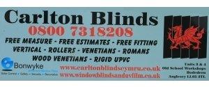 CARLTON BLINDS.