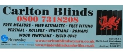 CARLTON BLINDS.