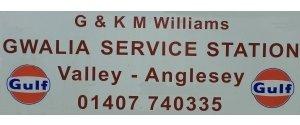 G & K  M Williams.