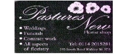 Pastuers New Florists