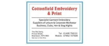 Cottonfield Embroidery
