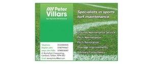 Peter Villiars Sportsground maintenance