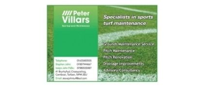 Peter Villiars Sportsground maintenance