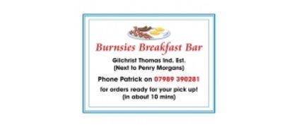 Burnsies Breakfast bar