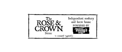The Rose & Crown at Stone