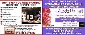 Headz Up Hair & Brampton Framing