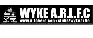 WYKE ARLFC CAR STICKERS