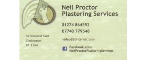 Neil Proctor Plastering Services