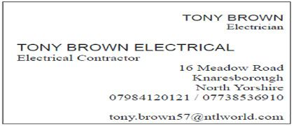 Tony Brown Electrical