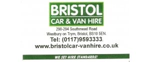 BRISTOL Car & Van Hire