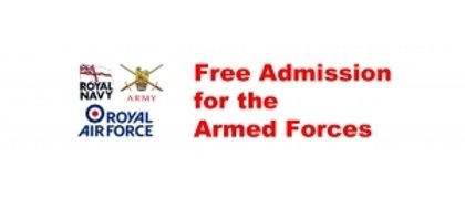 Free Entry For HM Forces