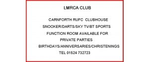 Railway Club - Carnforth
