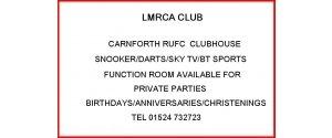 Railway Club - Carnforth