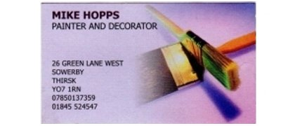 Mike Hopps Painting and Decorating