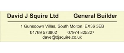 David J Squire Ltd