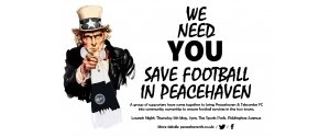 Save football in Peacehaven