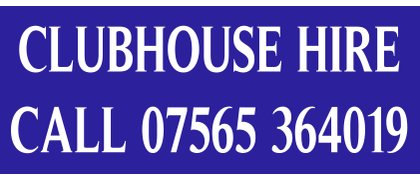 Clubhouse Hire Blue