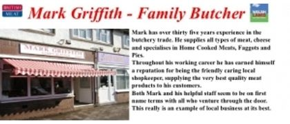 Mark Griffiths Family Butcher