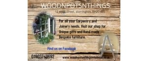 Wood 'n' pots 'n' things