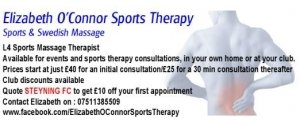 Elizabeth O'Connor Sports Therapy