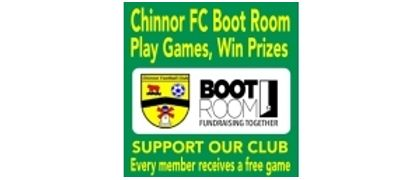 Chinnor FC Bootroom Fundraising Initiative