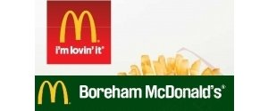 McDonalds of Boreham