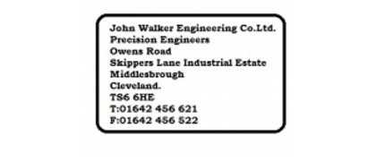 John Walker Engineering