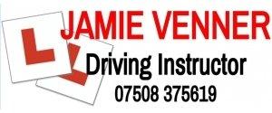 JAMIE VENNER: Driving Instructor