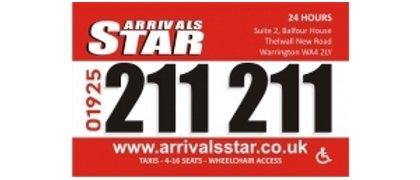 Arrivals Star Taxi