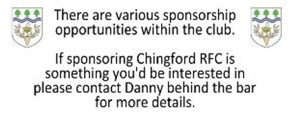 Sponsorship Advert
