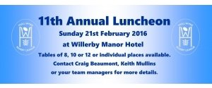 Hull Wyke Annual Luncheon