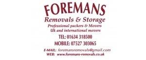 Foremans Removals