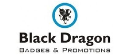 Black Dragon Badges
