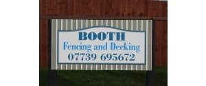 Booth Fencing & Decking