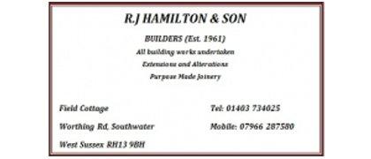 R J Hamilton Builders