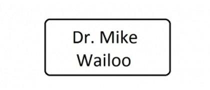 Dr Mike Wailoo