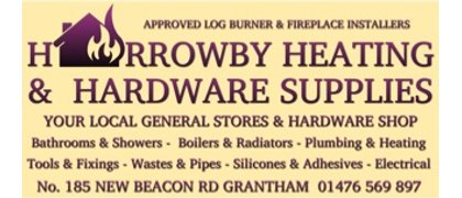 Harrowby Heating& Hardware Supplies.