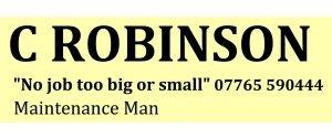 C Robinson maintenance