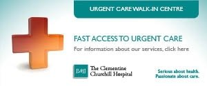 Emergency Care Centre at BMI The Clementine Churchill Hospital