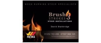 Brush Strokes Stove Installation