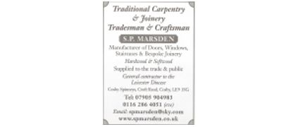 Stuart Marsden Tel 07905904983