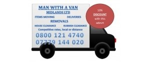 man with a van midlands ltd.